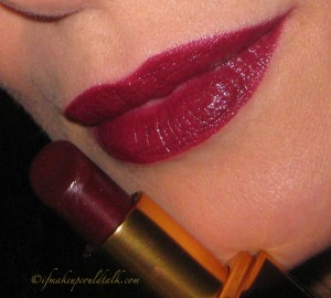 Tom Ford Lipstick Black Orchid.