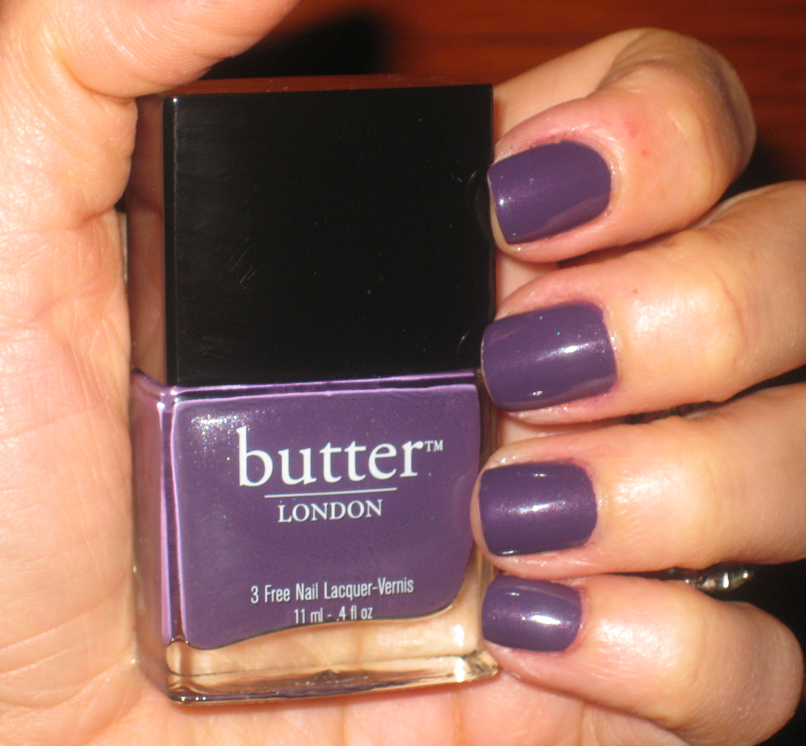 NOTW: butter London Marrow Nail Lacquer - If Makeup Could Talk