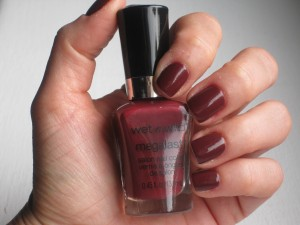 Wet n Wild 215B Haze of Love mega last nail polish.