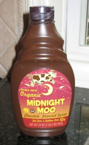 Trader Joe's Organic Chocolate Syrup.