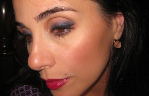 Prestige Obsession Total Intensity Eyeshadow worn on the eyes.