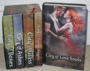 Current Book Favorites: The Mortal Instruments by Cassandra Clare.