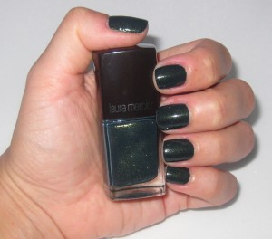 Laura Mercier Bewitched Nail Lacquer swatch.