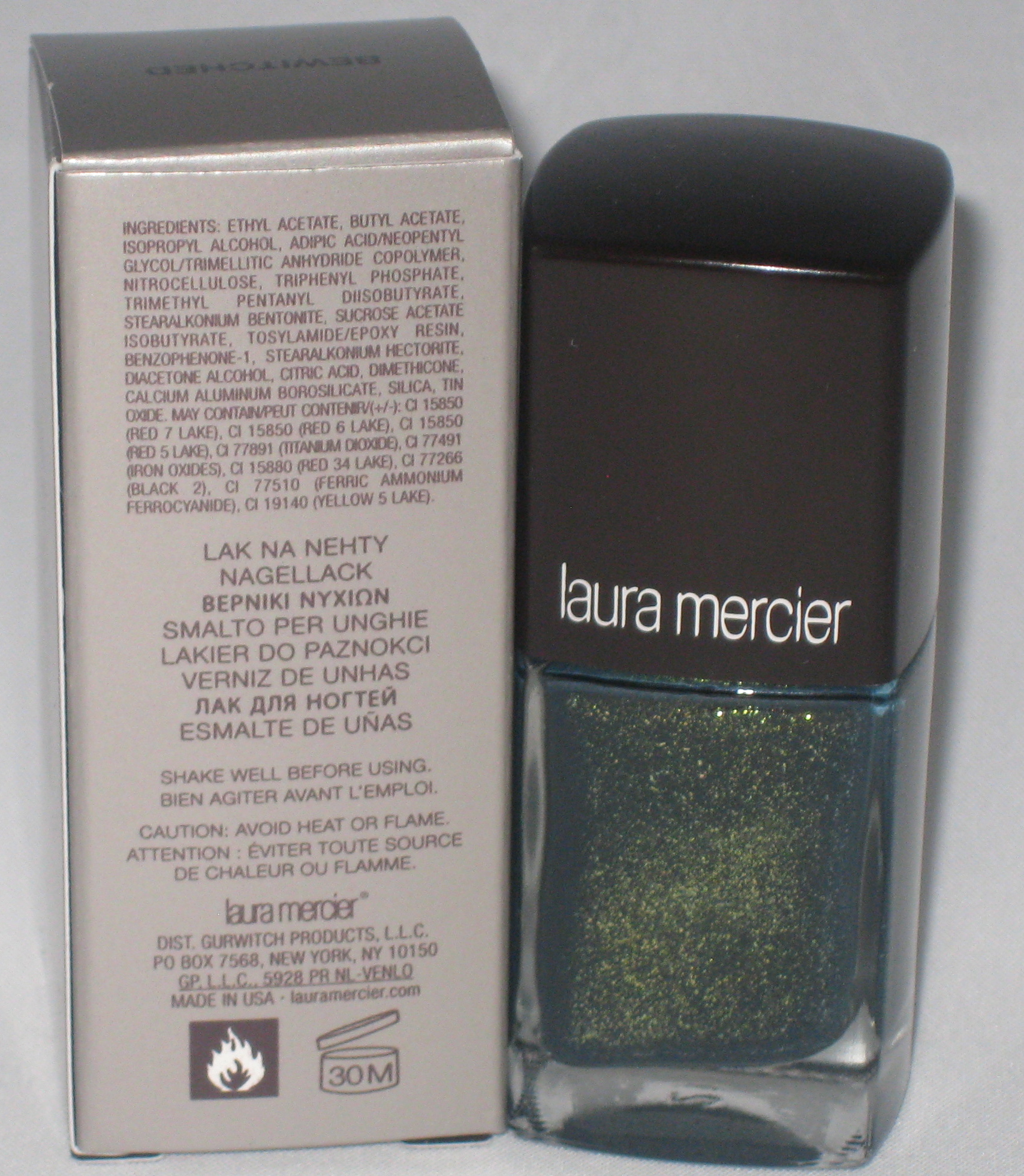 Laura Lacquer Nail Polish: Laura Mercier Bewitched Nail Lacquer Review And Photos