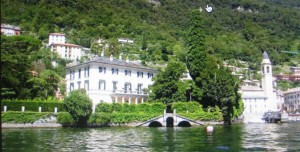 Yeah that's where I belong!!  George Clooney's villa in Lake Como, Italy.