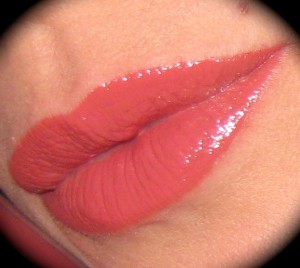 Estee Lauder Pure Color High Intensity Lip Lacquer in Liquid Petal.