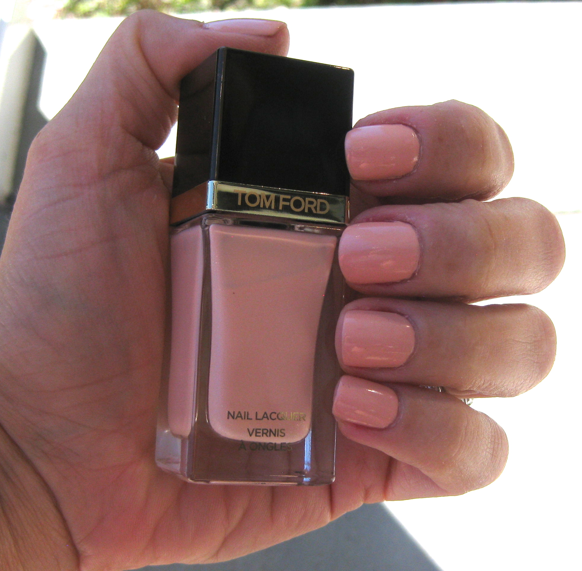 Tom Ford Show Me The Pink Nail Lacquer review. - If Makeup Could Talk