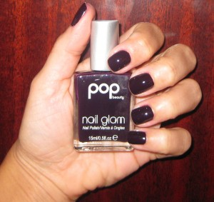 POP Beauty Purple Plum Nail Glam..