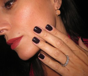 POP Beauty Purple Plum Nail Glam.