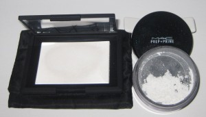 Nars Light Reflecting pressed Powder vs. MAC Prep-n-Prime.