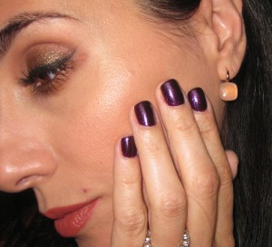 Nails of the Week: Estee Lauder Smashed Nail Lacquer (reviewed here).