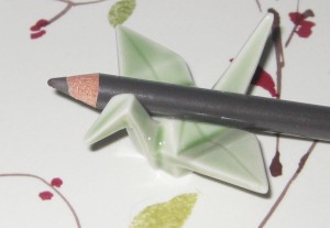 Shu Uemura 02 Seal Brown sharpened with Slice Cosmetic Sharpener.