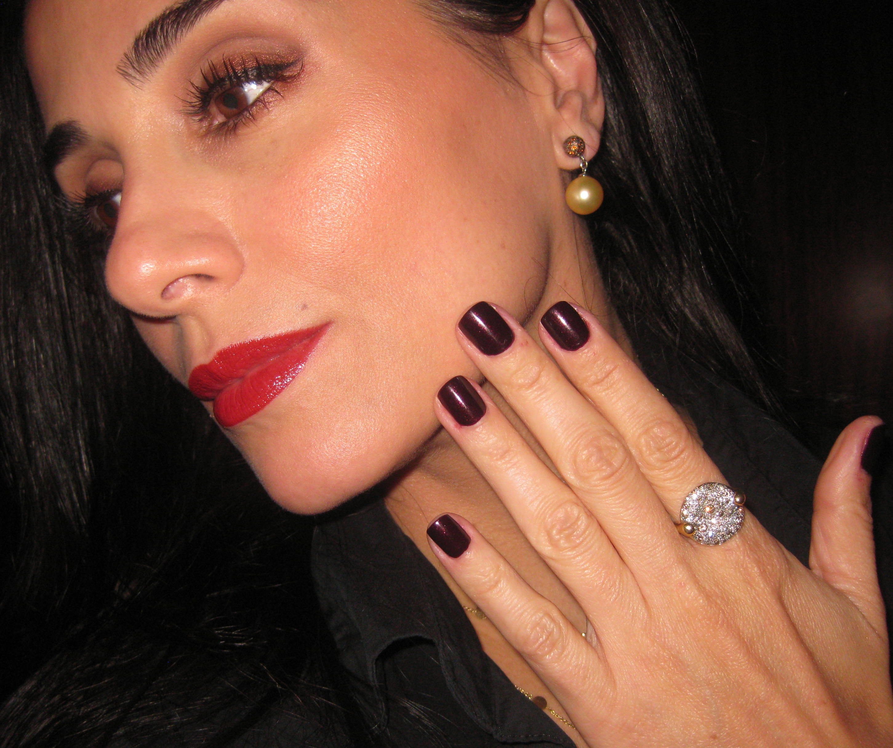 Dior Minuit Diorific Vernis Nail Polish is truly a midnight passion!