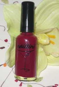 Nailtini Bordeaux Straight-Up Nail Lacquer.