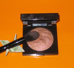 Wayne Goss Brush 02 with Laura Mercier Ritual Bronzer.