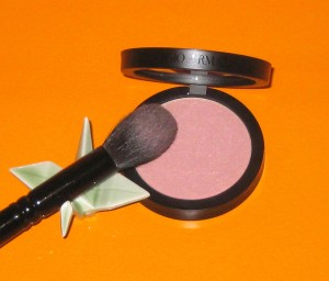 Wayne Goss Brush 02 with Giorgio Armani Beige 10 Blush.