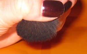Applied heavy pressure to demonstrate the density of the Wayne Goss Brush 02