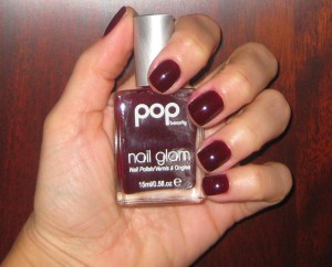 Pop Beauty Wine Wonder Nail Glam.