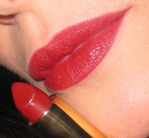 Kevyn Aucoin Blood Roses worn with Rimmel Obsession Lipliner.