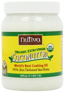 Nutiva Coconut OIl (photo courtesy of Amazon.com).
