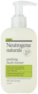 Neutrogena Naturals Purifying Facial Cleanser (photo courtesy of Amazon.com).