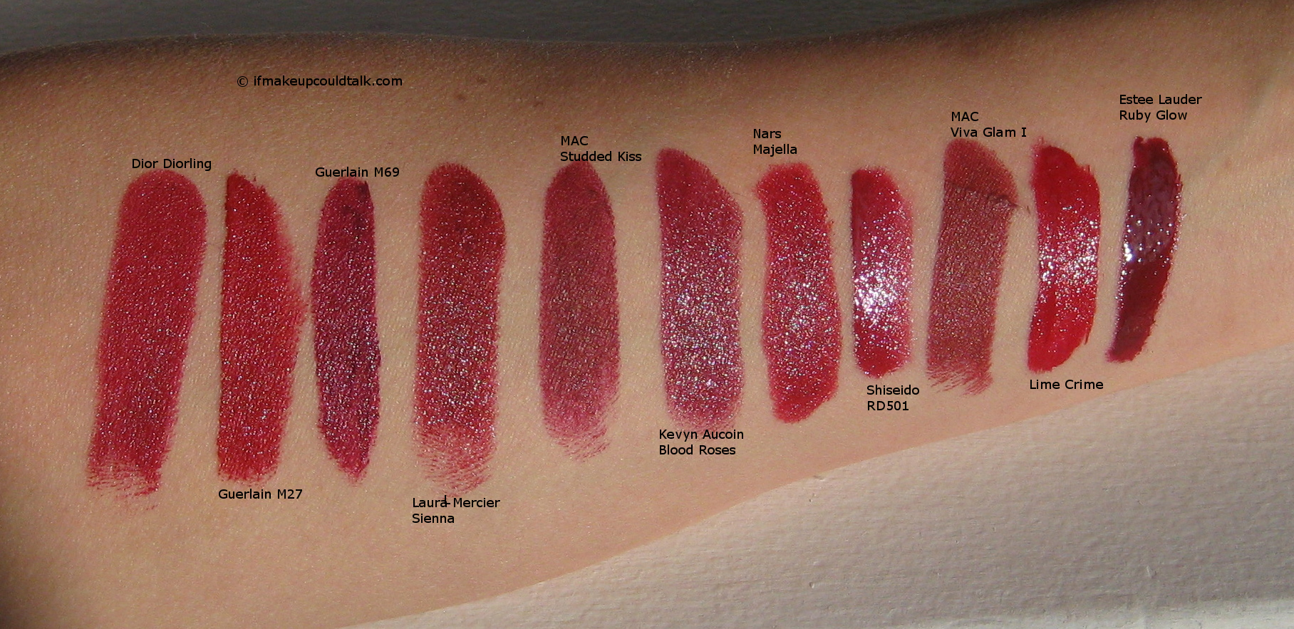 Eccezionale MAC Studded Kiss review, swatches and comparisons. - If Makeup  BB01