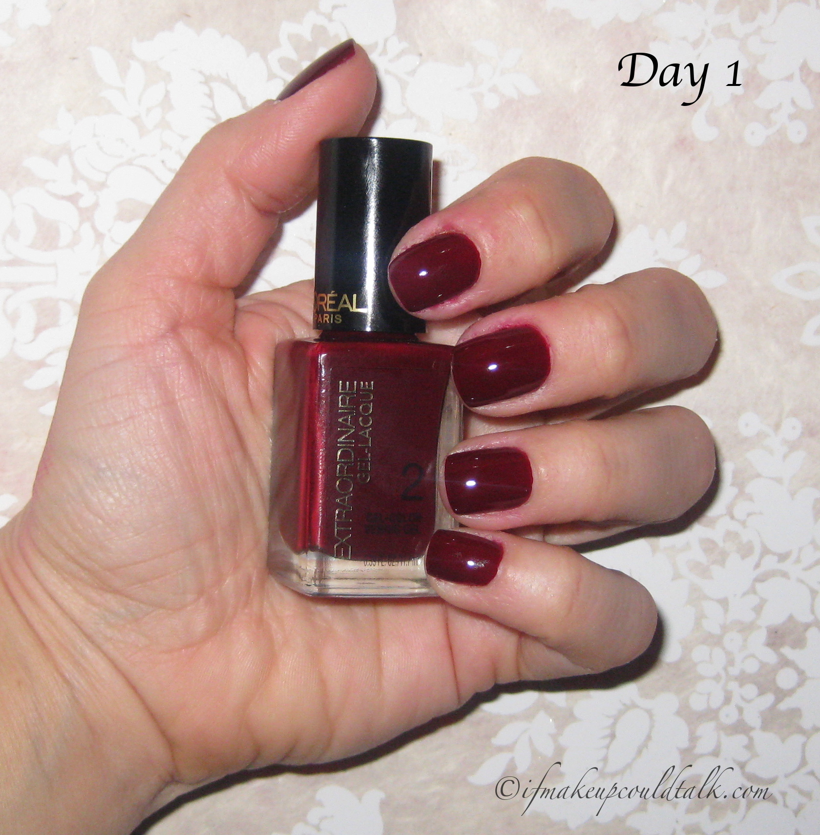 L\'Oréal Extraordinaire Gel-Lacque 1-2-3 Kit review and photos. - If ...
