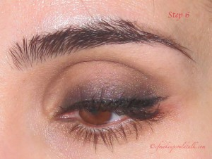 Step 6: Valentine Day Makeup Look.