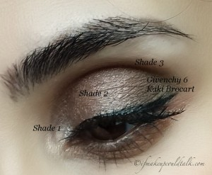 Look 4: Avon Chocolate Sensation True Color Eyeshadow Quad.