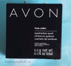 Avon Chocolate Sensation True Color Eyeshadow Quad.
