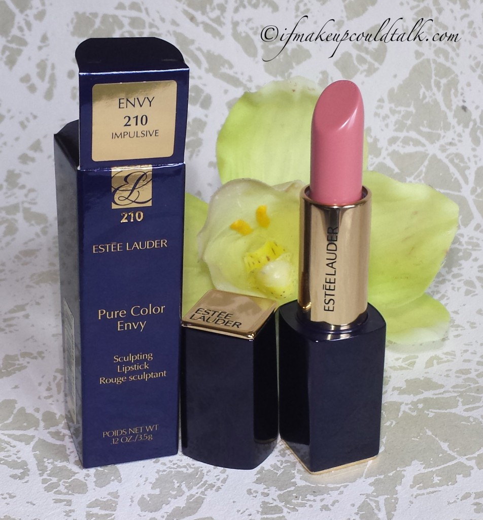 Estee Lauder Impulsive Pure Color Envy Lipstick.
