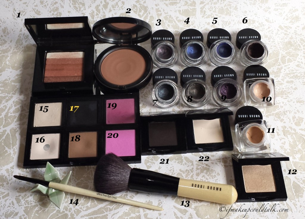 My Bobbi Brown Collection.