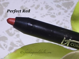 It Cosmetics Your Lips But Better Waterproof Lip Liner Stain in Perfect Red.