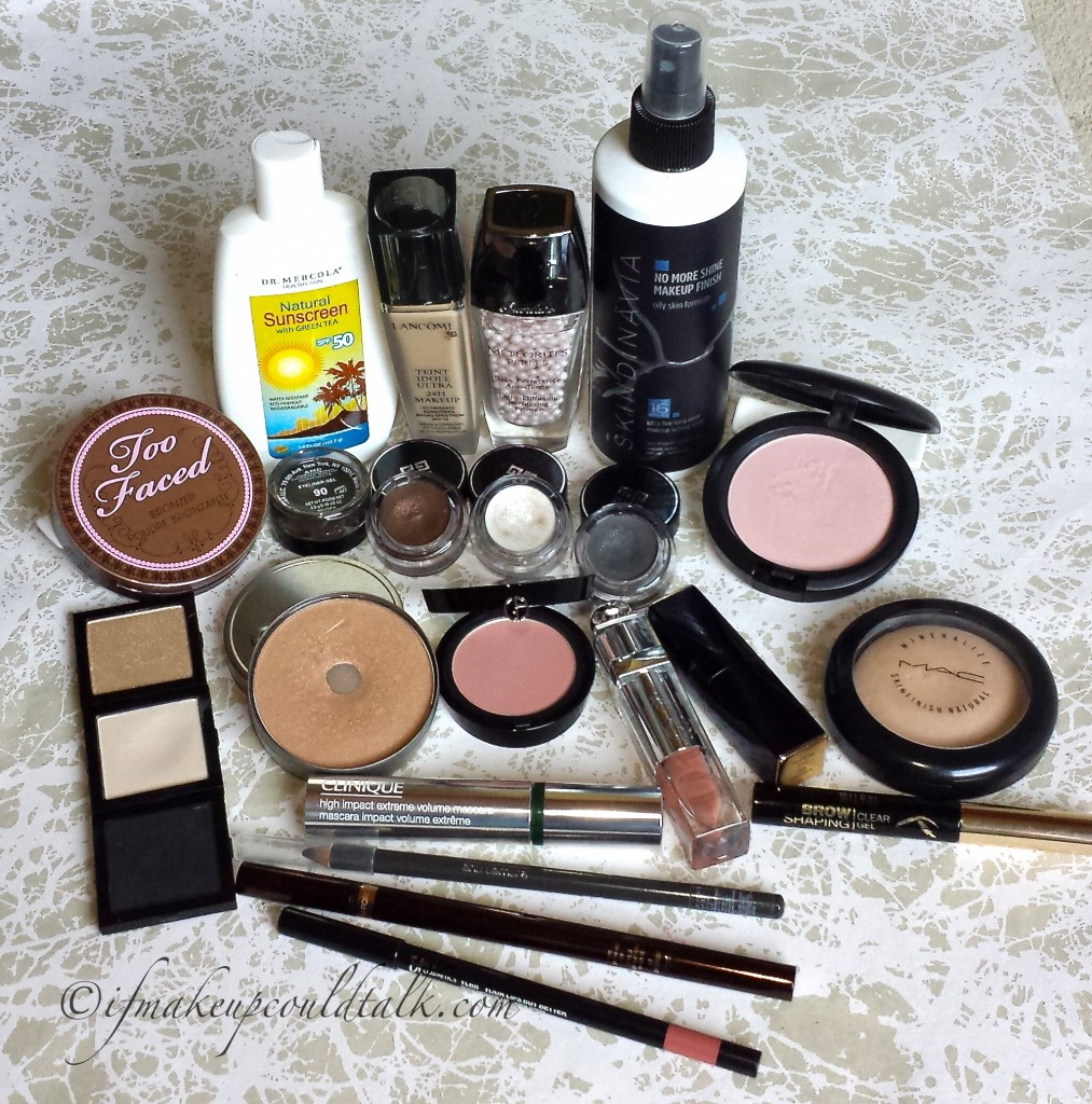 Makeup of the Week: Budge Proof Makeup.