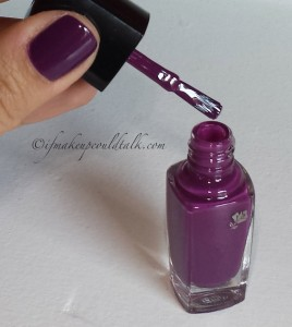 Lancome 411N Midnight Rose Vernis In Love brush head.