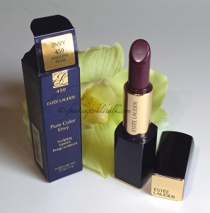 Estee Lauder 450 Insolent Plum Pure Color Envy Lipstick.