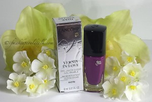 Lancome 411N Midnight Rose Vernis In Love.