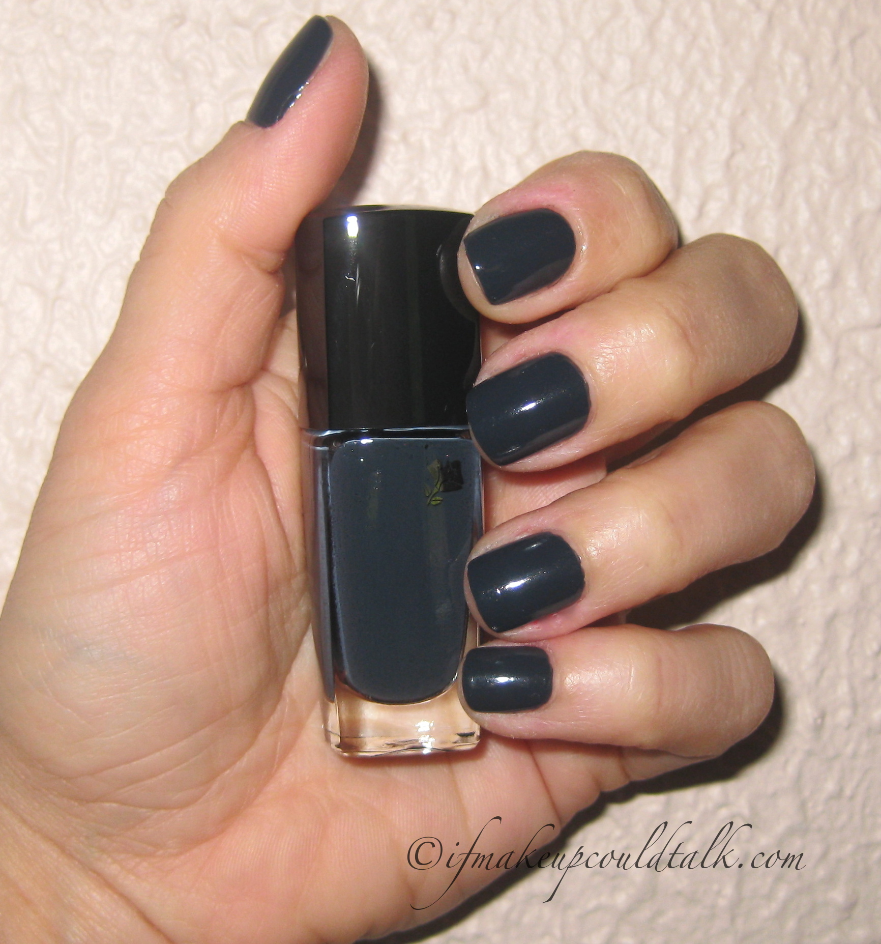 lancome noir caviar 585n vernis in love review and photos if makeup could talk. Black Bedroom Furniture Sets. Home Design Ideas
