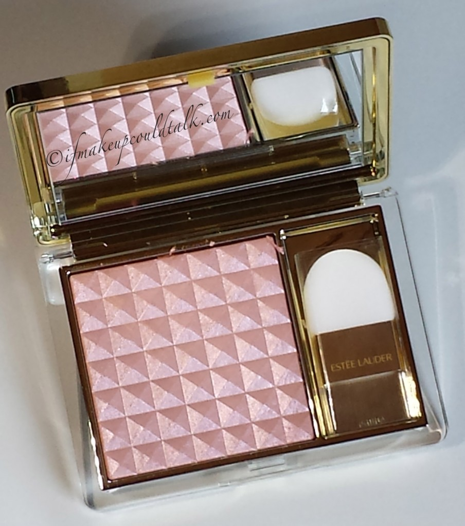 Estee Lauder 04 Crystal Baby Illuminating Powder Gelee Blush.