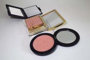 Compact Comparisons: Nars, Estee Lauder and Vincent Longo.