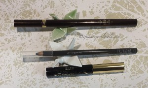 Current Favorites: Tom Ford Eye Defining Pen, Shu Uemura 05 Stone Gray, Milani Brow Gel.