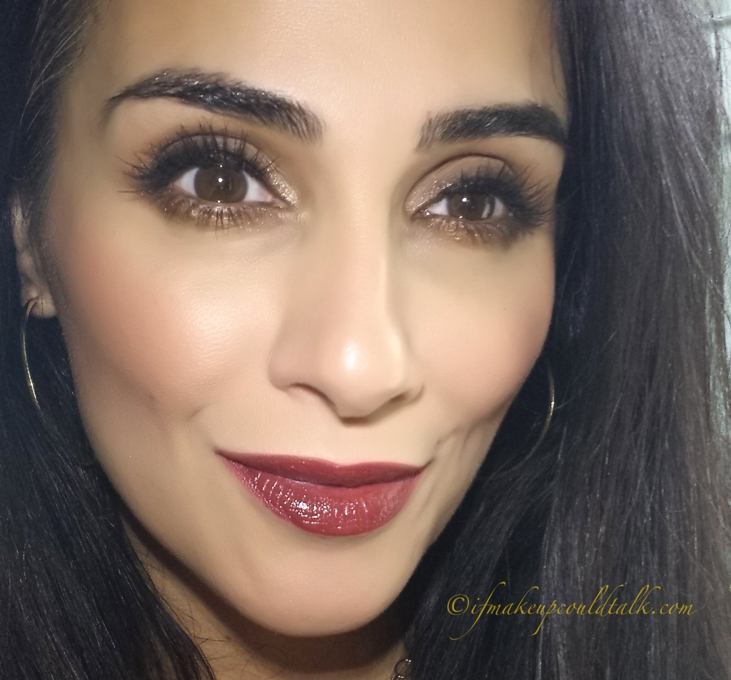 Girlactik Allure Matte Lip Paint used as a lipliner/base with  Estee Lauder 150 Decadent Pure Color Envy Lipstick and lightly topped with Dior Addict Fluid Stick in 975 Minuit.