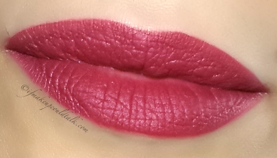 Girlactik Allure Matte Lip Paint used as a lipliner/base with Lipstick Queen Black Tie Velvet Rope Lipstick.