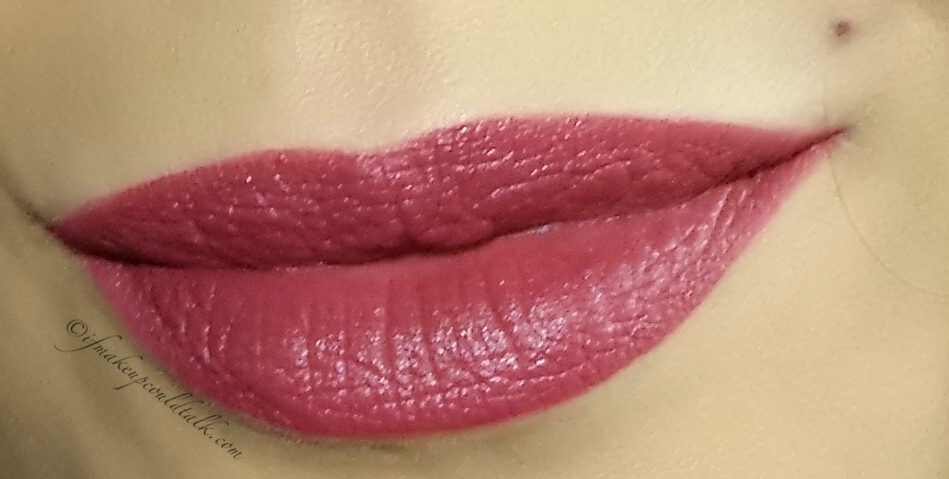 Girlactik Allure Matte Lip Paint used as a lipliner/base with Lipstick Queen Private Party Velvet Rope Lipstick and estee Lauder 150 Decadent Pure Color Envy Lipstick.