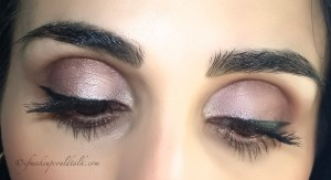 Wearing Make Up For Ever Artist Shadows ME-654, I-524, M-600 and ME-512 in the inner corner.
