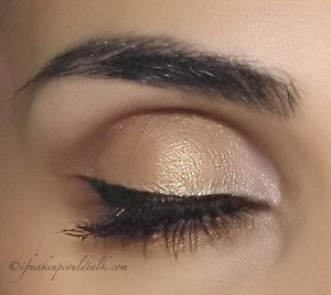 Wearing Make Up For Ever Artist Shadows I-648, M-600, M510 with I-524.