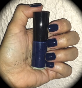 Giorgio Armani Nail Lacquer 701 Bleu D'Armani (with flash).