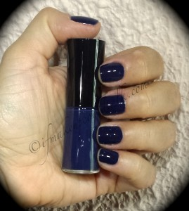 Giorgio Armani Nail Lacquer 701 Bleu D'Armani (without flash).