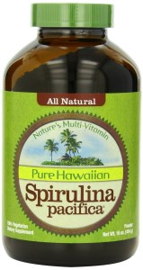 Things I've Been Loving: Pure Hawaiin Spirulina.  This is the brand I use.