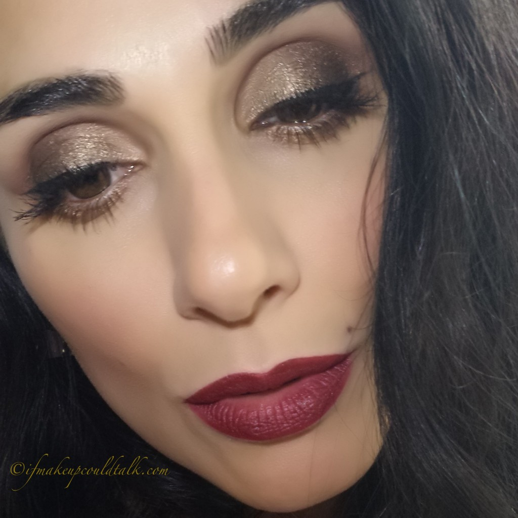 Wearing YSL Rouge Pur Couture The Mats 206 Grenant Satisfaction.